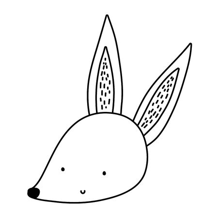 Fox cartoon vector design vector illustration Ilustrace
