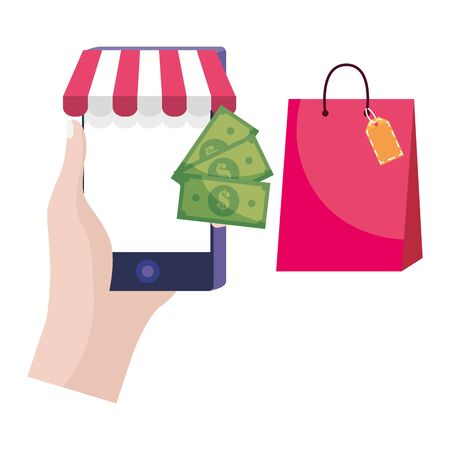 Shopping online icon design vector illustration