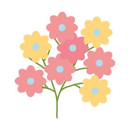 flowers garden plant decorative icon