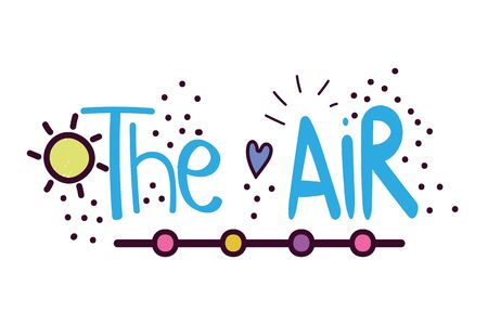 Isolated air word vector design