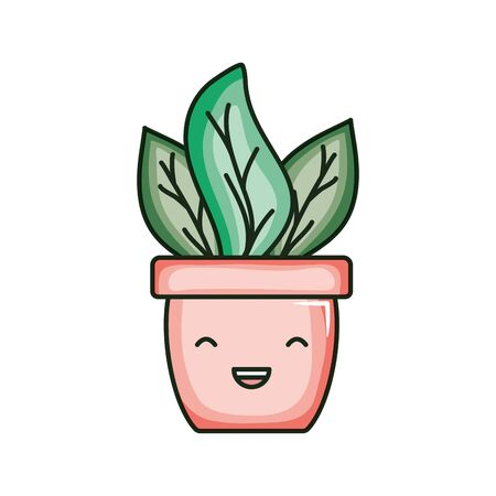 house plant comic character Ilustração