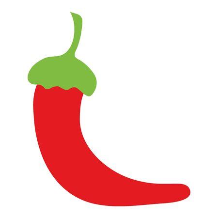 fresh chili pepper vegetable icon
