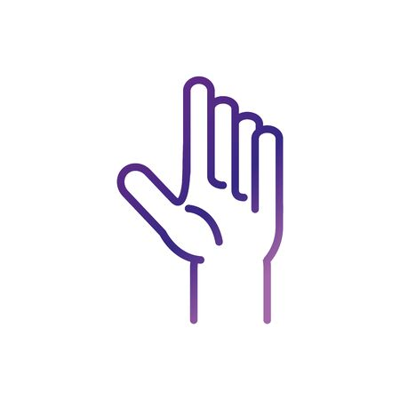 hand gesture charity help donation