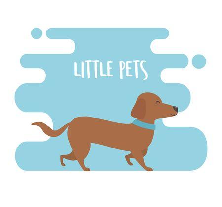 Little dog mascot character Foto de archivo - 133381208