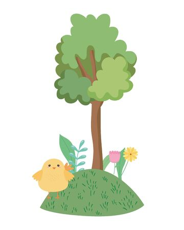 Chicken cartoon vector design vector illustration