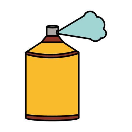 spray paint bottle isolated icon 일러스트