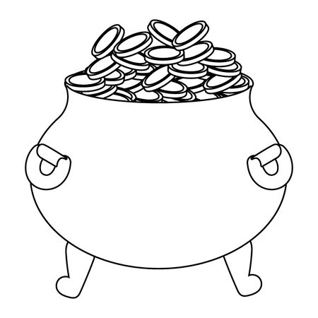 Isolated medieval pot design vector illustration