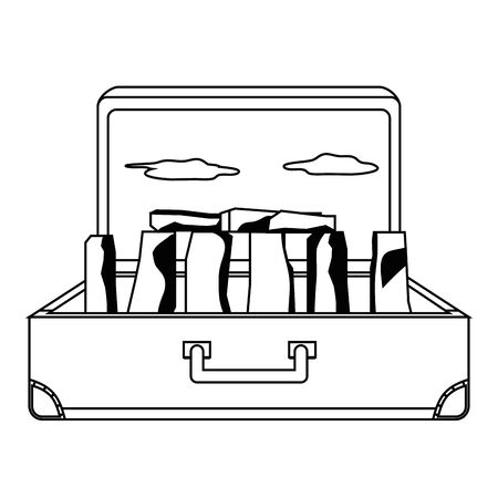 Stonehenge england landmark design, Travel trip vacation tourism and journey theme Vector illustration Illustration