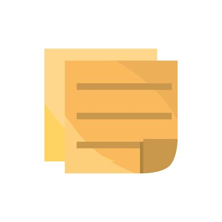 papers office work business equipment icon