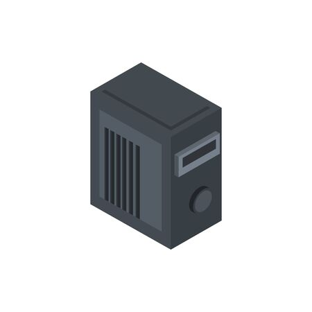 tower technology hardware device computer isometric