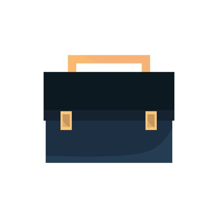 briefcase office work business equipment icon Illusztráció
