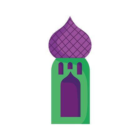 arabic castle tower classic antique icon