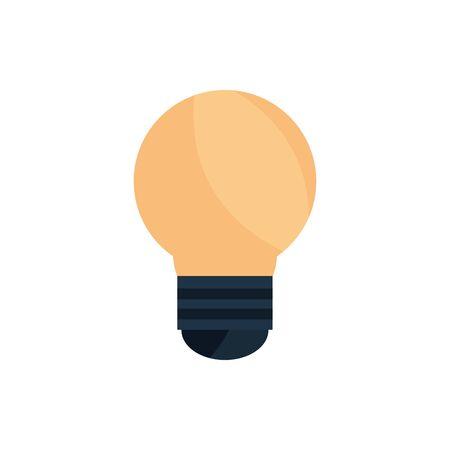 light bulb creativity office work business icon