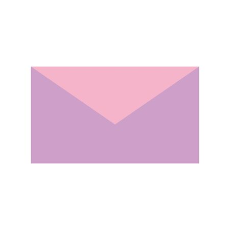 envelope mail courier communication icon vector illustration