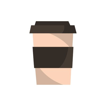 take away coffee office work icon