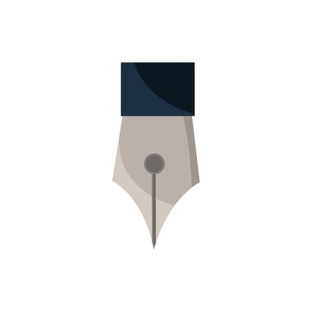 fountain pen office work business equipment icon