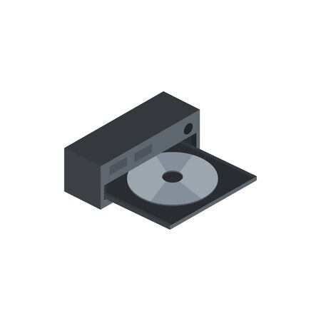 dvd case technology hardware device computer isometric