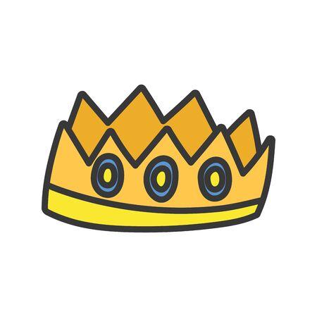 crown royalty gems luxury monarch icon