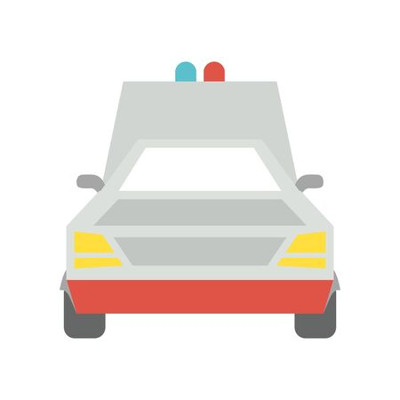 ambulance car icon design, Automobile auto transportation vehicle drive travel traffic theme Vector illustration Ilustração