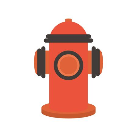 fire hydrant flat style icon