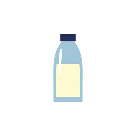 Isolated milk bottle icon flat design Иллюстрация