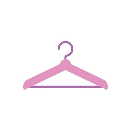 Isolated hanger icon flat design