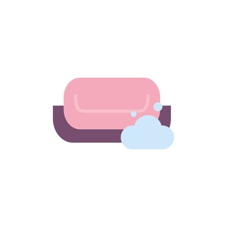 Isolated soup icon flat design