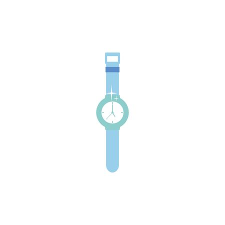Isolated watch icon flat design
