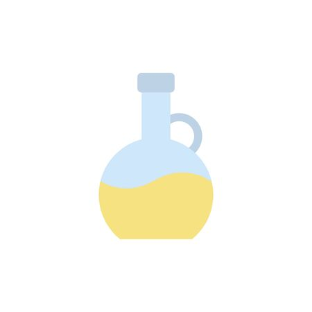 Isolated spa flask icon flat design