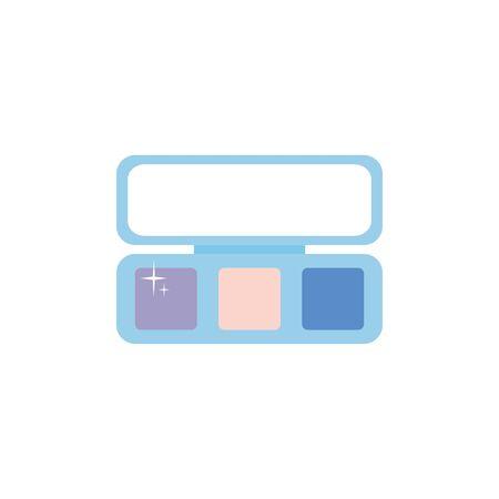 Isolated make up eye shadow flat design  イラスト・ベクター素材