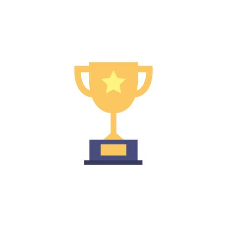 Isolated trophy icon vector design