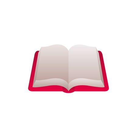 open book fantasy gradient style