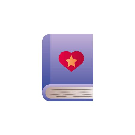 magical book fantasy gradient style