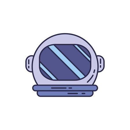 universe astronaut hat fill style icon