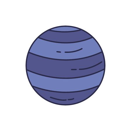 universe planet fill style icon
