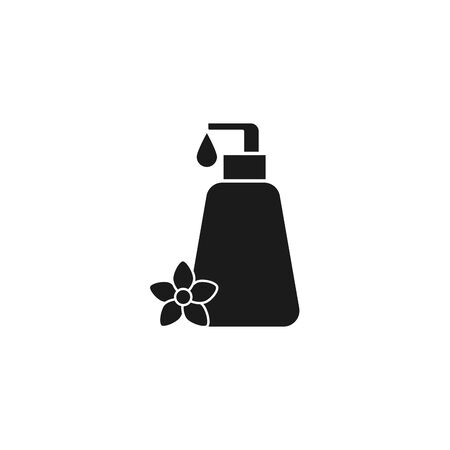 spa bottle product silhouette style icon