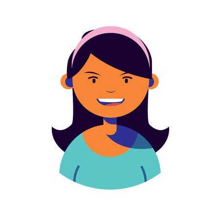 woman character people flat image