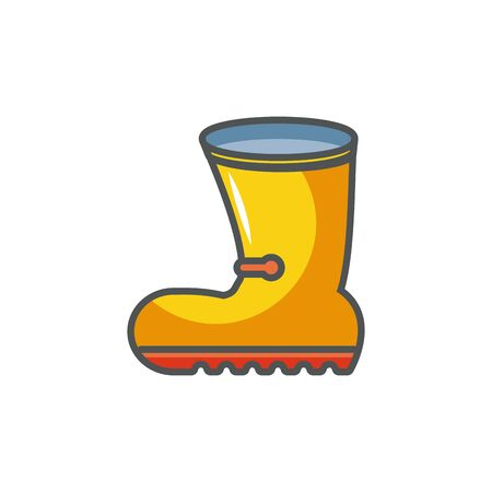 rubber boot industrial protection safety fill