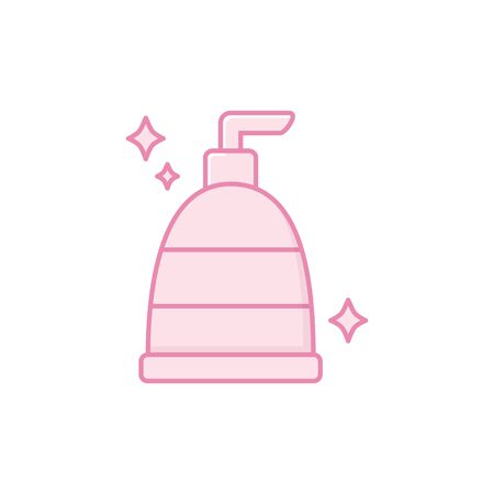 Isolated liquid soap icon fill design