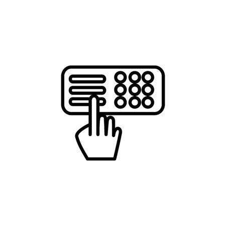Isolated strongbox icon vector design