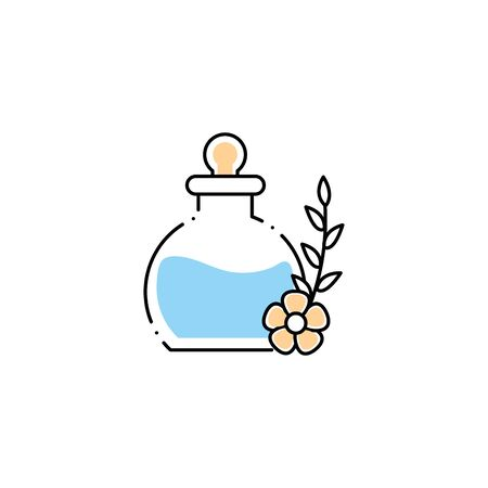spa bottle product fill style icon