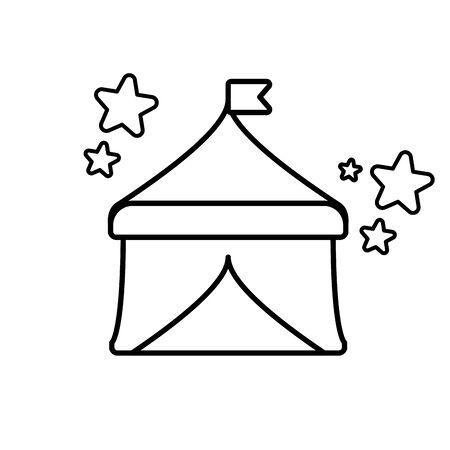 imagination mystery magic line style icon