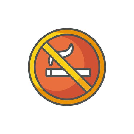 no smoking industrial protection safety fill