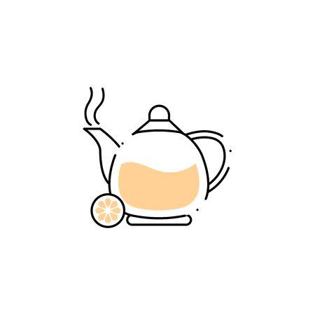 teapot spa fill style icon