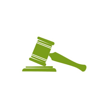 Hammer design, Law justice legal judgment judicial authority freedom and crime theme Vector illustration 일러스트