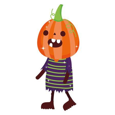 trick or treat - happy halloween Illusztráció