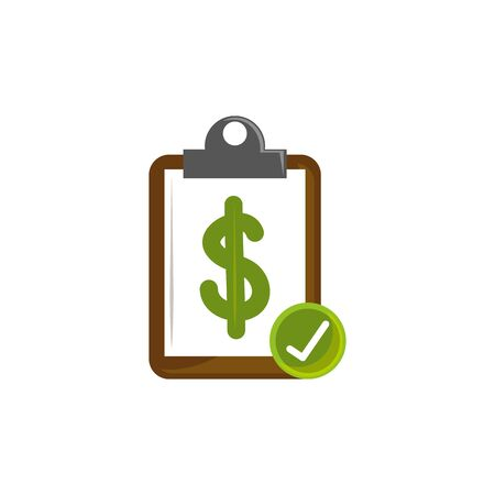 Isolated money document icon flat design Stock fotó - 133981629