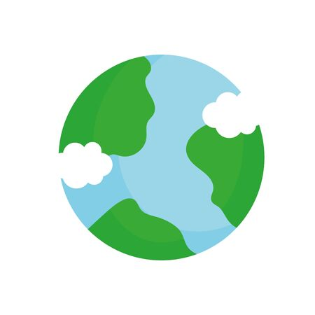 ecology renewable environment world icon 일러스트