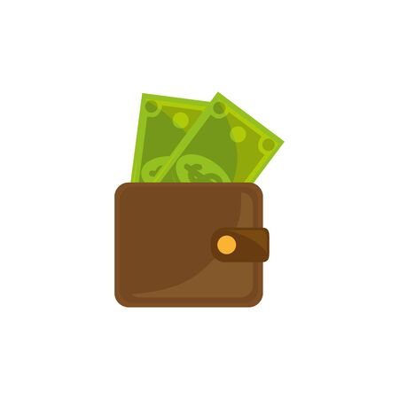 Isolated money icon flat design Stock fotó - 133980642