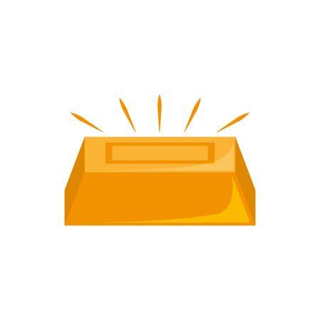 gold bar design, Money finance commerce market payment invest and buy theme Vector illustration Stock fotó - 133980909